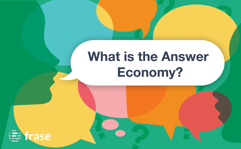 What is the Answer Economy?