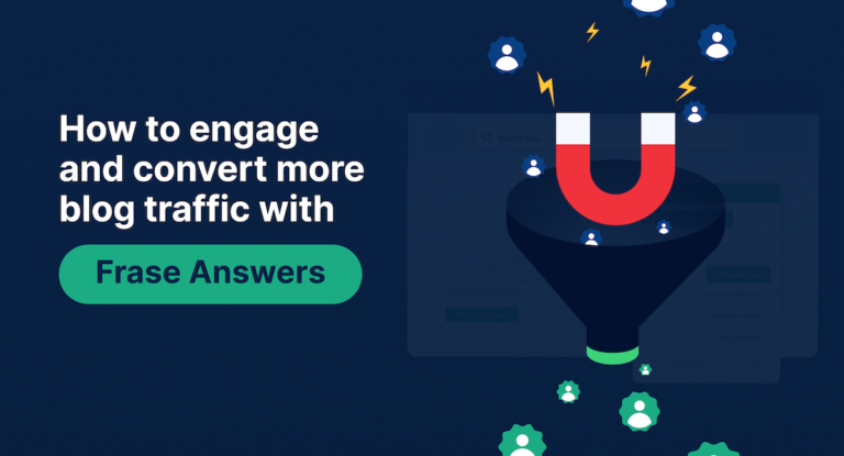 4 Playbooks to Convert More SEO Traffic in 2021 with Frase